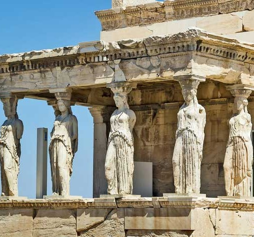 Classical-Greek-Caryatides